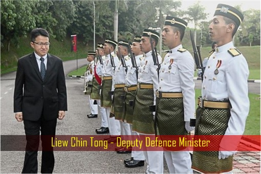 Liew Chin Tong - Deputy Defence Minister