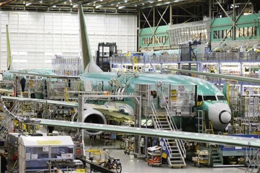 Boeing 737 MAX - Assembly Line