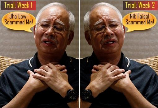 1MDB-SRC Trial - Najib Razak - Week 1 Jho Low Scam - Week 2 Nik Faisal Scam