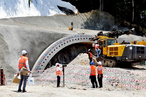 ECRL - East Coast Rail Link - Construction Work