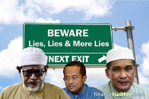 PAS Leaders Liar - Hadi Awang, Takiyuddin Hassan, Ahmad Samsuri Mokhtar