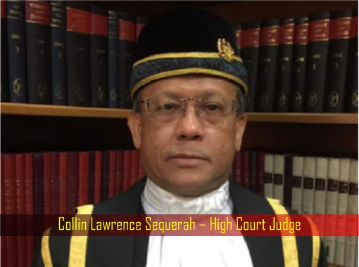 Collin Lawrence Sequerah – High Court Judge