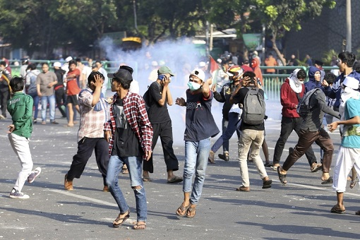 Indonesia 2019 Presidential Election - Riot - Rioters