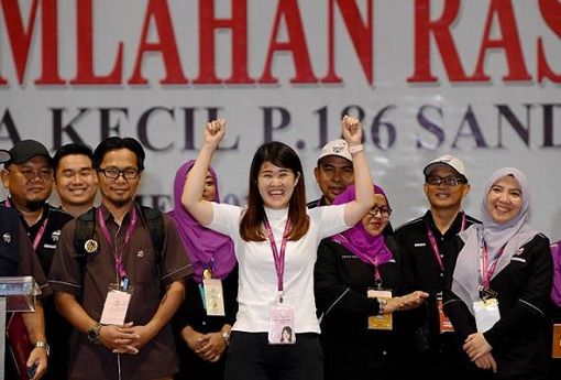 Sandakan Sabah By-Election - Vivian Wong Victorious