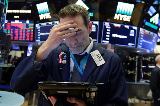 Stock Market Collapse - Wall Street Trader Reaction