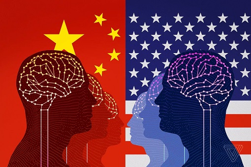 Tech War - US vs China AI Artificial Intelligence