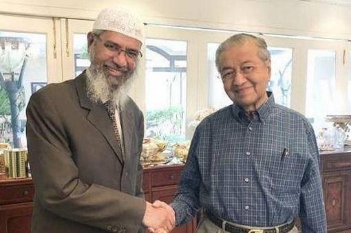 Zakir Naik and Mahathir Mohamad