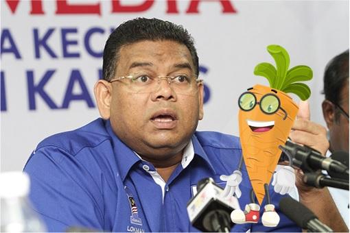 Lokman Noor Adam – Carrot Man - Lobak Man