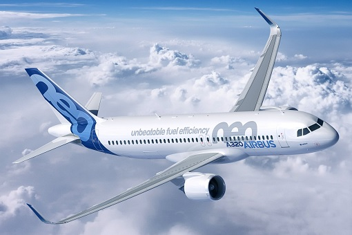 Airbus A320 Neo - Sky