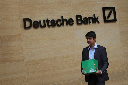 Deutsche Bank - Cut 18000 Jobs - Staff Leaving