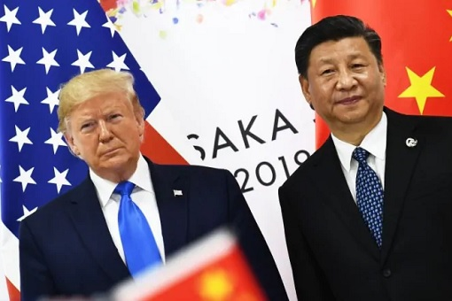 Osaka G20 Summit 2019 - Donald Trump and Xi Jinping