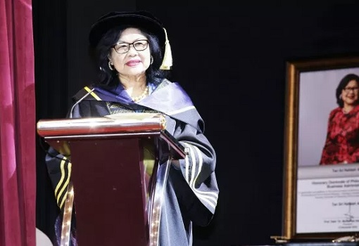 Rafidah Aziz - Honorary Doctor of Philosophy PhD