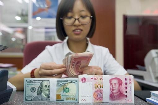 US Dollar and China Yuan - Cashier