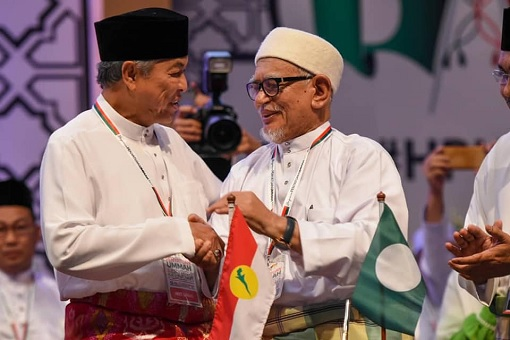 UMNO-PAS Alliance - Zahid Hamidi and Hadi Awang