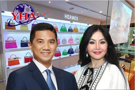 Azmin Ali and Maira Nazarbayeva - Refused To Pay - Family Travel and Hermes Handbags