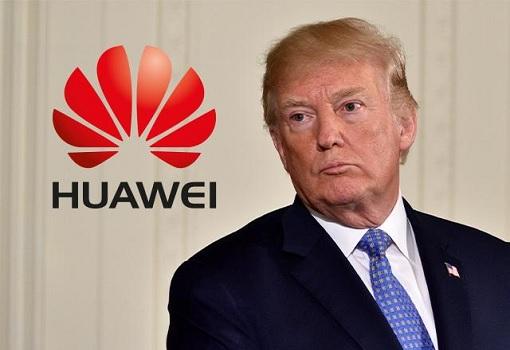 Donald Trump Blacklisting Huawei
