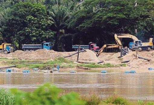 Perak Illegal Sand Mining