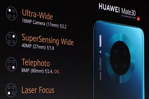 Huawei Mate 30 - Features and Components