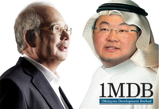 Najib Razak and Sheikh Arab Jho Low - 1MDB