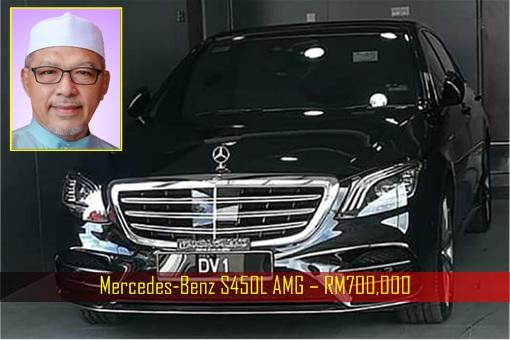 Mercedes-Benz S450L AMG – RM700000 - Kelantan Chief Minister Ahmad Yakob