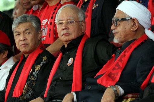 Rohingya - Zahid Hamidi and Najib Razak and Hadi Awang