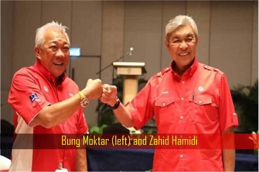 Bung Moktar and Zahid Hamidi
