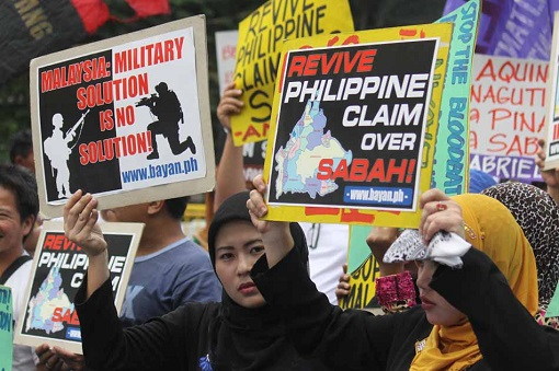 Philippines Claims Over Sabah - Demonstrators Protestors