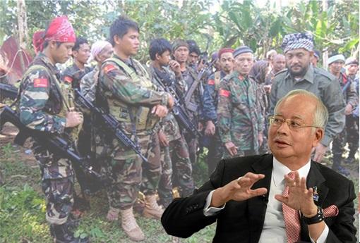 Sabah Invasion by Sulu Philippines Militants 2013 - Najib Razak shocked