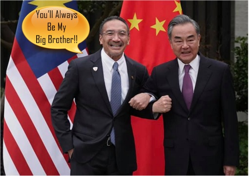 Malaysia Hishammuddin Hussein and China Wang Yi - You Will Always Be My Big Brother